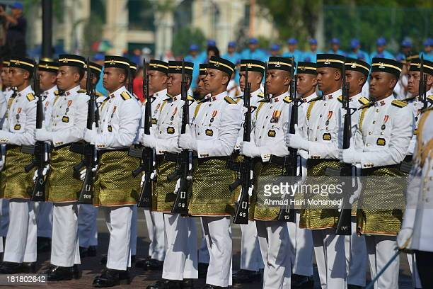 Army, free, march, parade, independence, free, gun, gun, blue, handsome, smart, organized, flag, robust, kuantan
