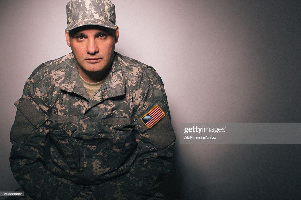 Military man photos