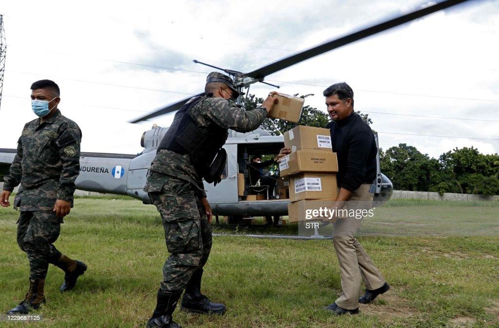 HONDURAS-WEATHER-HURRICANE-IOTA : News Photo
