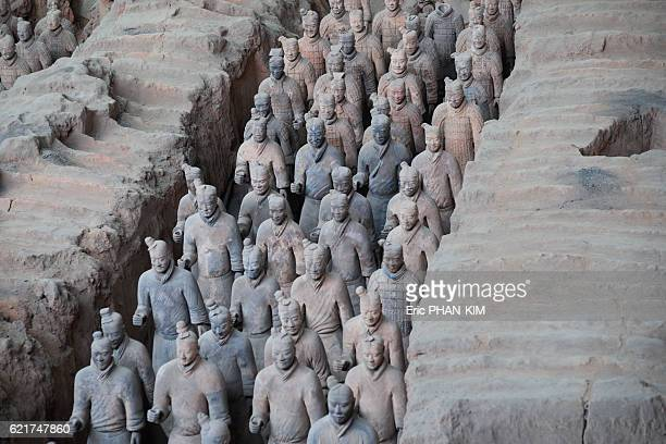 Army of terracotta warriors, XiAn, ShaanXi, China