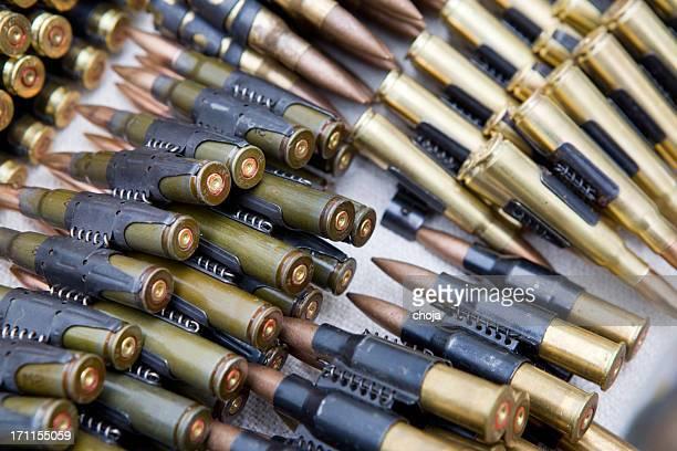 Ejército riffle balas