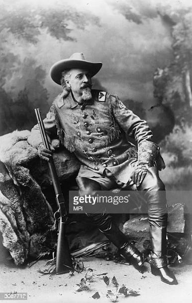 Army scout pony express rider and showman William Cody better known as Buffalo Bill