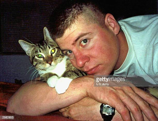 Army Sgt. Christopher Wayne Swisher, 26 of Lincoln Nebraska was one of 2 soldiers killed in an ambush October 9th, 2003 in Baghdad's Sadr City, Iraq....