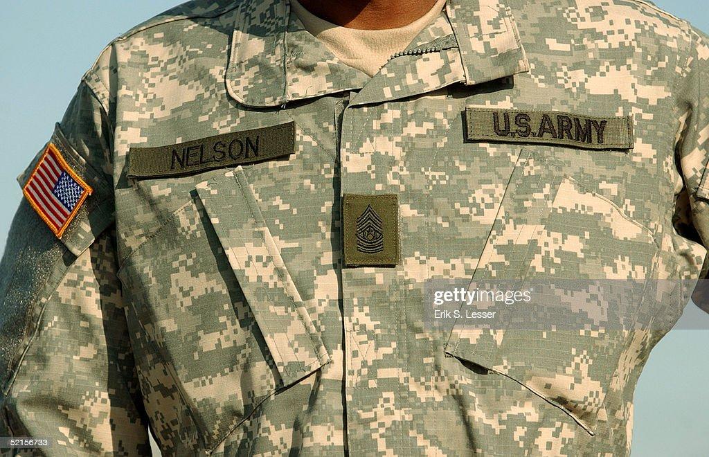New Army Combat Uniform Debuts At Fort Stewart : News Photo