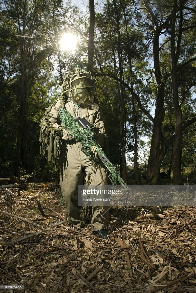 Army Rep In Forest