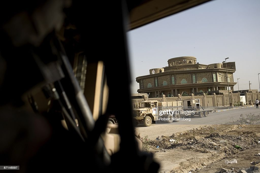 US Army Vehicle In Sadr City : News Photo