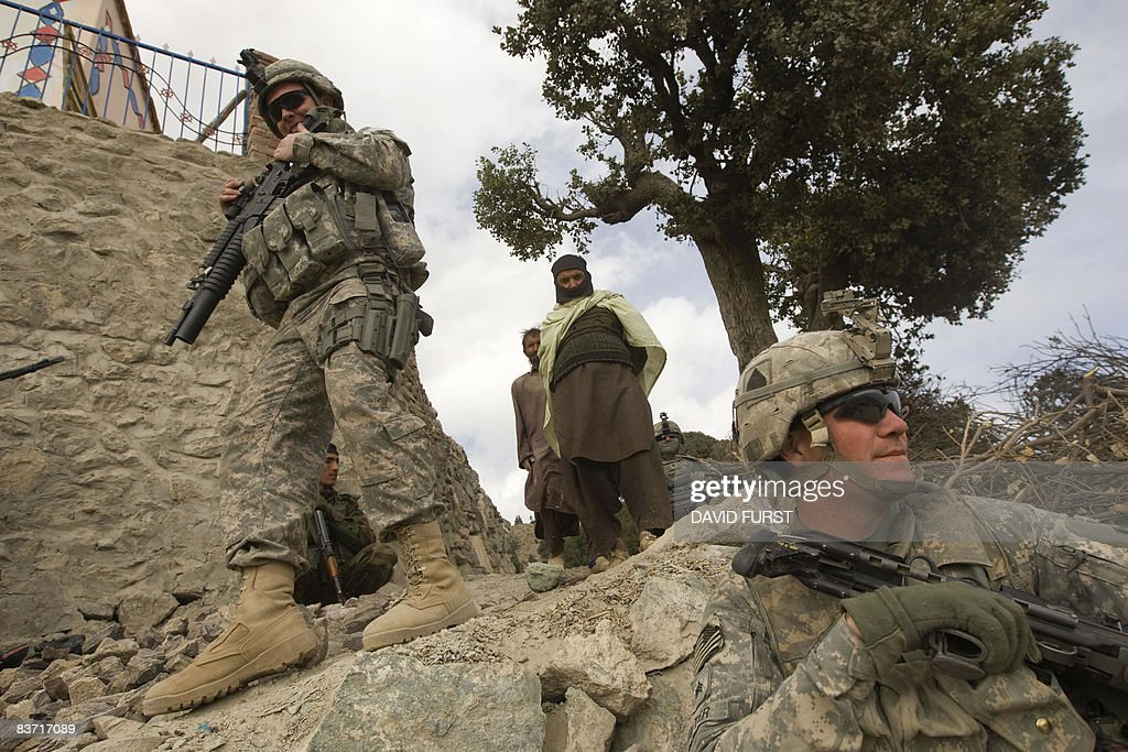 US Army soldiers from 2-506 Infantry 101st Airborne Division