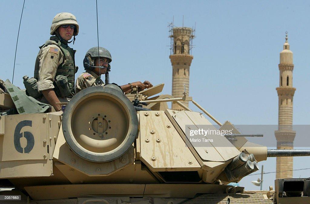 U.S. Soldier Killed In Fallujah : News Photo