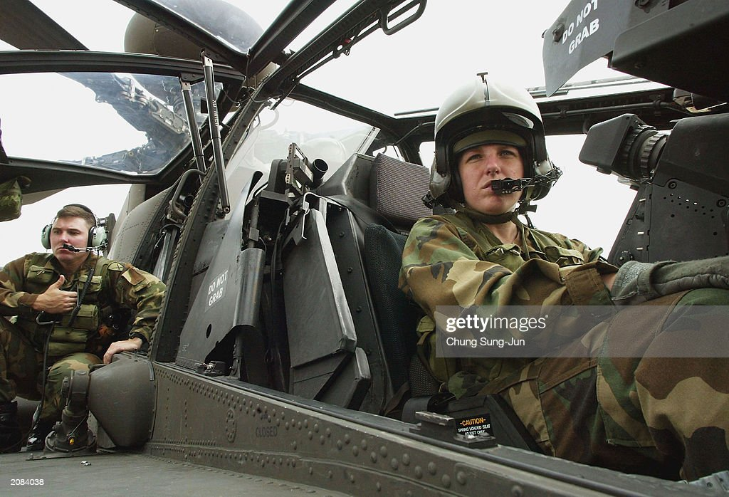 US Apache Helicopter Brought To US Military Base In South - Us army bases in korea map