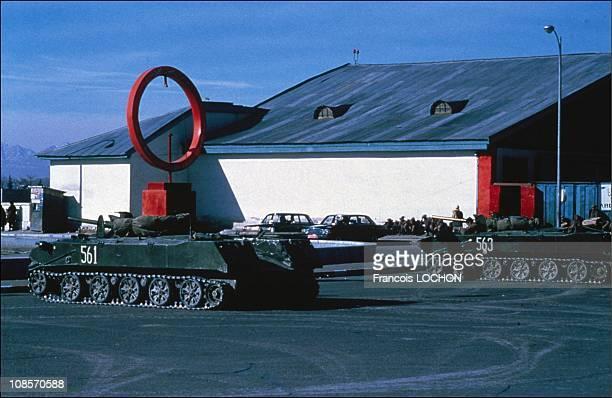 Army Soviet in Kabul in Kabul, Afghanistan on December 29, 1979.