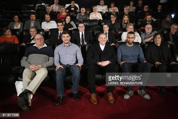 US Army Specialist Alek Skarlatos US Air Force Staff Sergent Spencer Stone Anthony Sadler the three Americans who stopped a terrorist attack in...