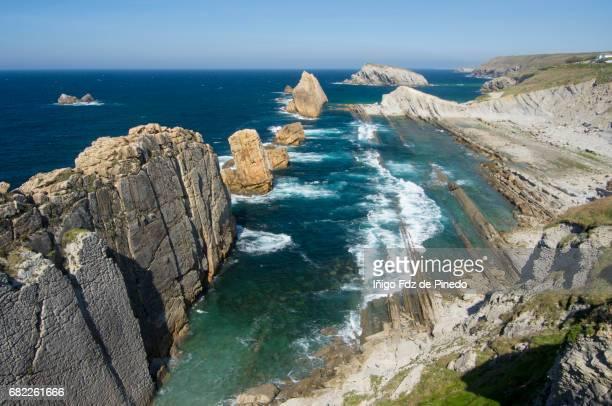 Arnía beach- Cantabrian sea- Liencres -Santander- Spain