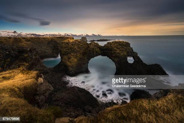 Arnarstapi arch, Iceland