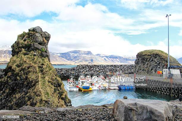 Arnarstapi harbour, Snaefellsnes peninsula, Icelan
