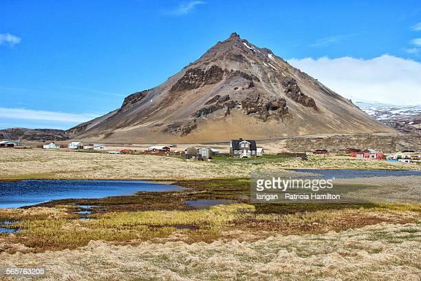 Arnarstapi, Mt Stapafell in background