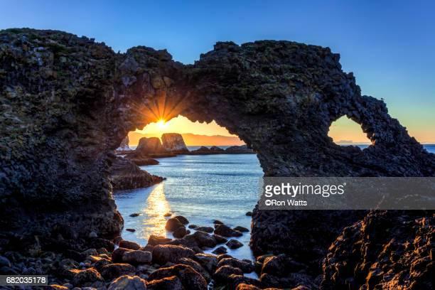 Arnarstapi  sea arch