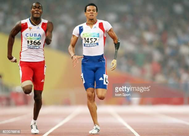 Arnaud ASSOUMANI 200 metres Atheltisme Jeux Paralympiques 2008 Pekin