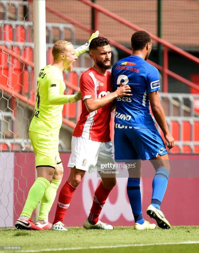 Arnaud Bodart Goalkeeper Of Standard Liege And Nicolas Gavory News Photo Getty Images