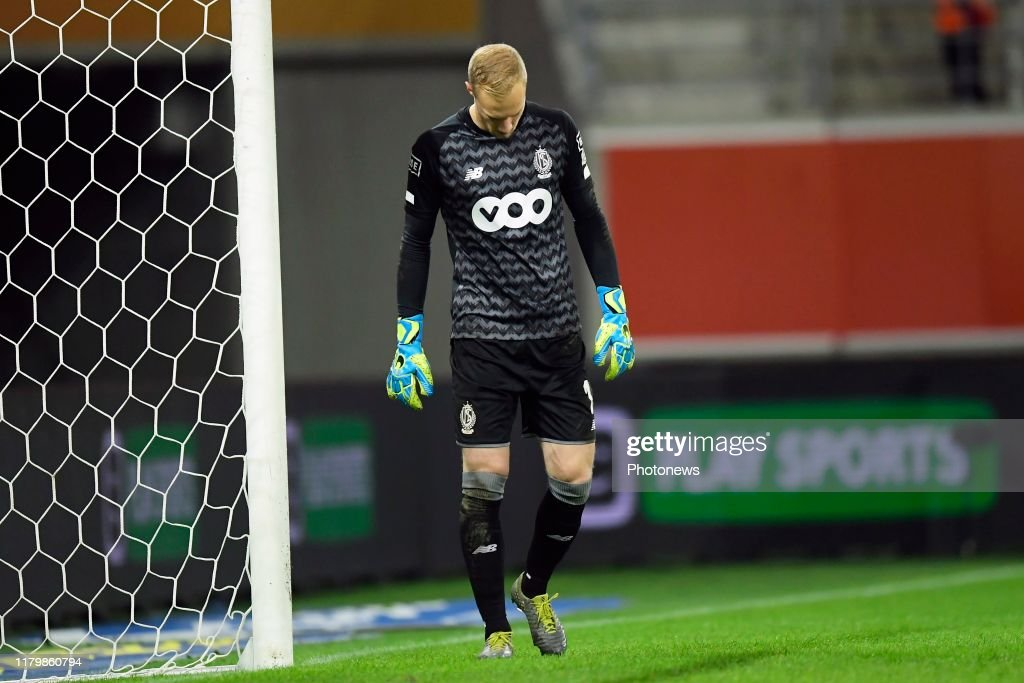 Arnaud Bodart Goalkeeper Of Standard Liege Looks Dejected During The News Photo Getty Images