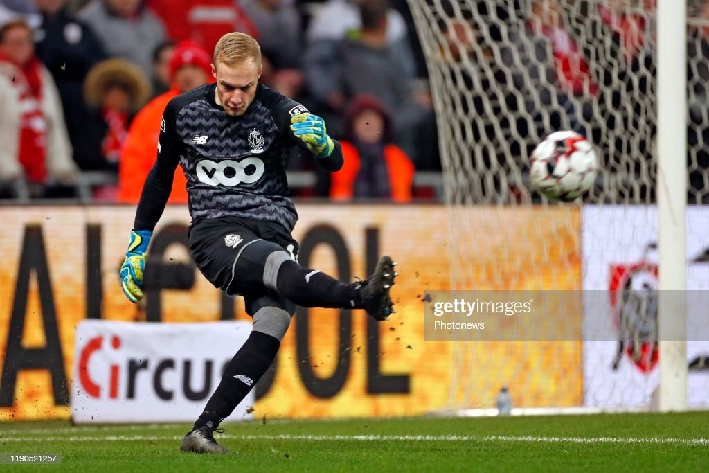 Arnaud Bodart Goalkeeper Of Standard Liege Pictured During The News Photo Getty Images