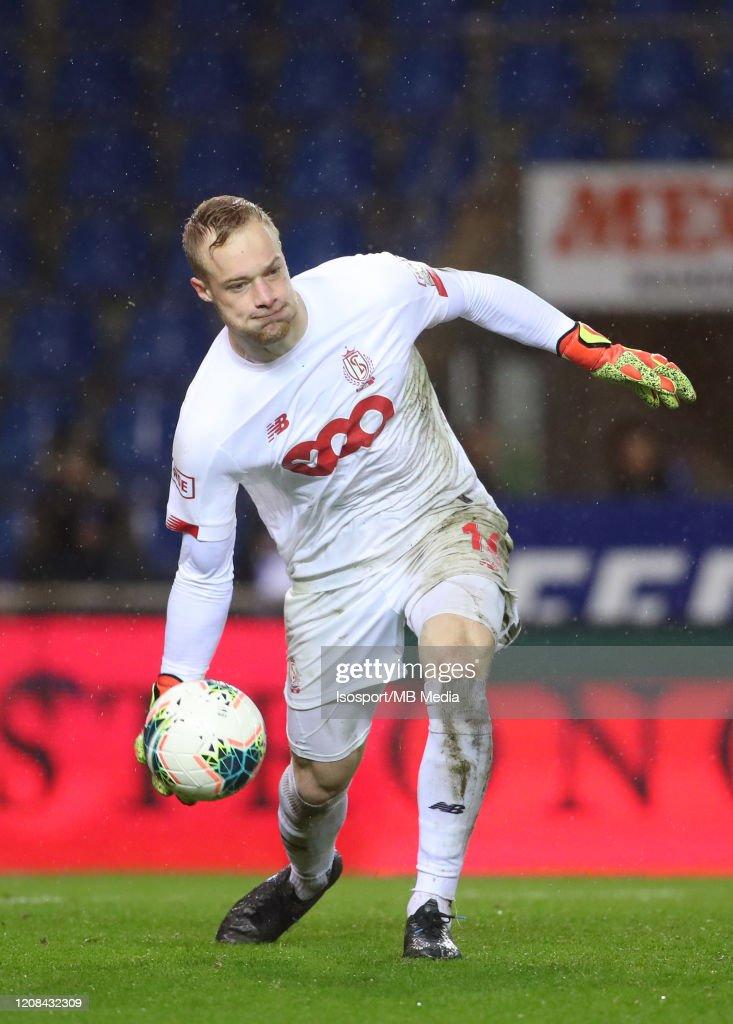 Arnaud Bodart Of Standard During The Jupiler Pro League Match Between News Photo Getty Images