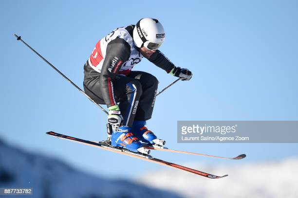 Arnaud Bovolenta of France during qualifications during the FIS Freestyle Ski World Cup, Men's and Women's Ski Cross on December 7, 2017 in Val...