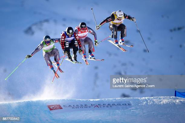 Arnaud Bovolenta of France takes 2nd place Francois Place of France competes Jean Frederic Chapuis of France competes Kevin Drury of Canada competes...