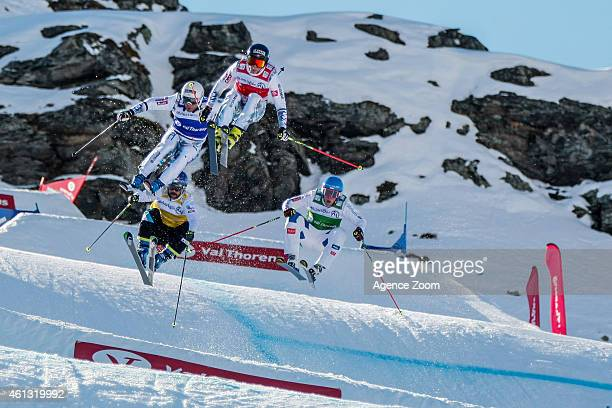Arnaud Bovolenta of France takes 6th place Jonathan Midol of France takes 2nd place Jouni Pellinen of Finland takes 11 place Filip Flisar of Slovenia...