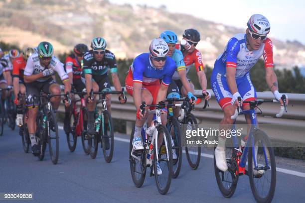 Arnaud Demare of France and Team Groupama FDJ / during the 109th MilanSanremo 2018 a 291km race from Milan to Sanremo on March 17 2018 in Sanremo...