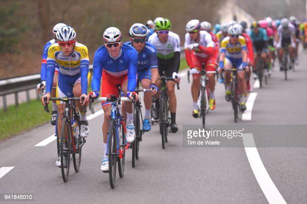 Arnaud Demare of France and Team Groupama FDJ / Peloton / during the 106th Scheldeprijs 2018 a 2004km race from Terneuzen to Schoten on April 4 2018...