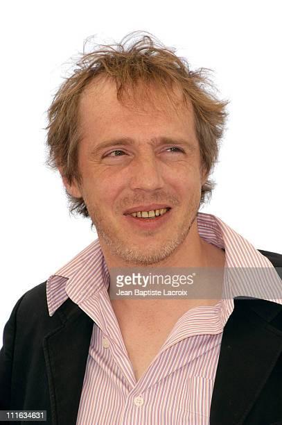 Arnaud Desplechin during 2003 Cannes Film Festival 'En Jouant dans la Compagnie des Hommes' Photocall at Palais des Festivals in Cannes France