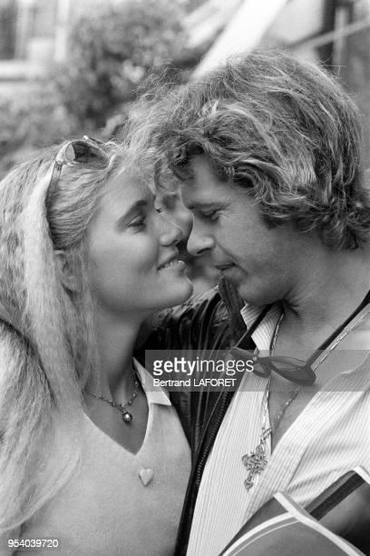 Arnaud et Jenna de Rosnay à Paris en septembre 1980 France