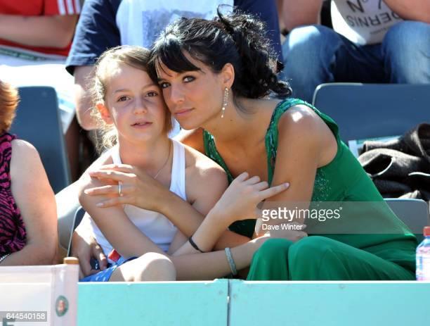 Arnaud LAGARDERE et son amie JADE Roland Garros 2011 Photo Dave Winter / Icon Sport