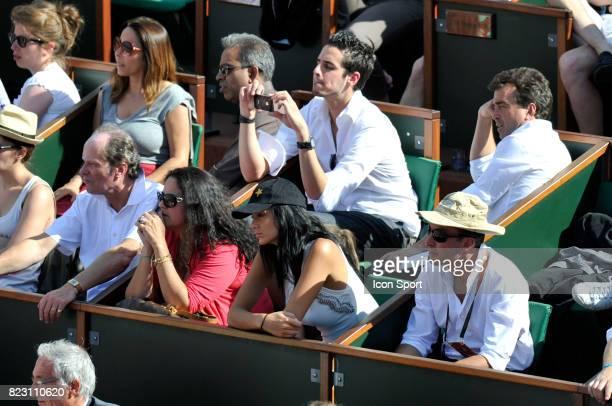 Arnaud LAGARDERE et son amie Jade FORET Roland Garros 2011