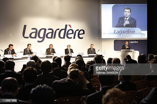 Arnaud Lagardere General Partner and Chief Executive Officer of Lagardere SCA Pierre Leroy Director and Chief Operating Officer of Arco and...
