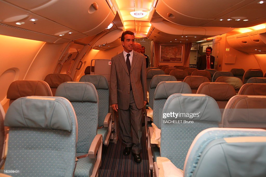 Arnaud Lagardère And The Airbus A380 Pictures | Getty Images