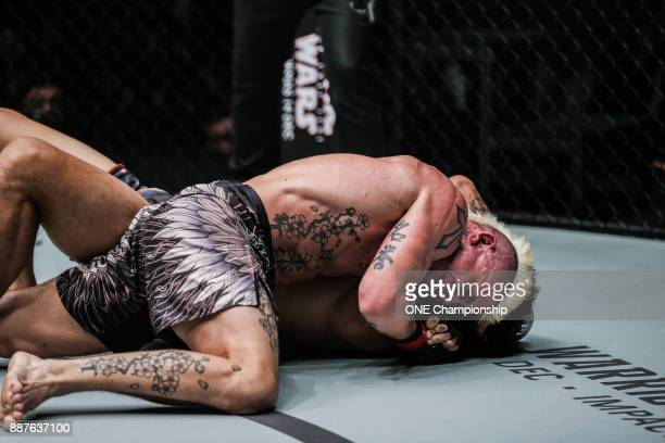 Arnaud Lepont makes a triumphant return to the ONE cage with a submission of Richard Corminal during ONE Championship Immortal Pursuit at the...