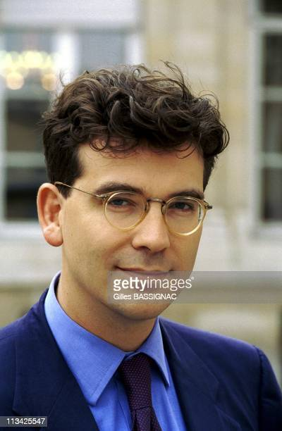 Arnaud Montebourg Depute Trade Commission Of Inquiry Courts On July 2nd1998 In ParisFrance