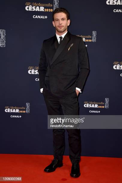Arnaud Valois arrives at the Cesar Film Awards 2020 Ceremony At Salle Pleyel In Paris on February 28, 2020 in Paris, France.