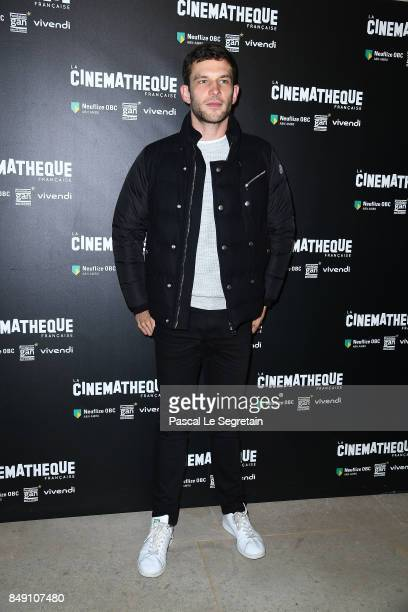 Arnaud Valois attends 'Happy End' Paris Premiere at la cinematheque on September 18 2017 in Paris France