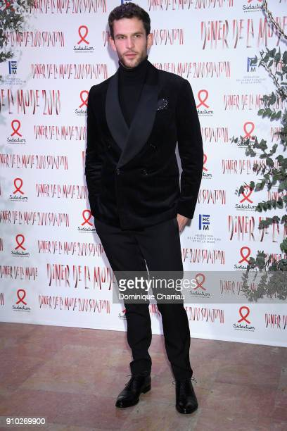 Arnaud Valois attends the 16th Sidaction as part of Paris Fashion Week on January 25 2018 in Paris France