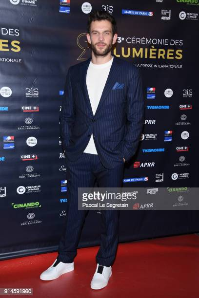 Arnaud Valois attends the 23rd Lumieres Award Ceremony at Institut du Monde Arabe on February 5 2018 in Paris France