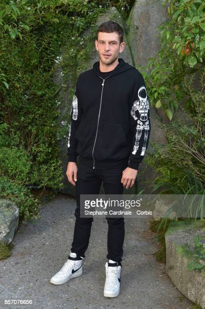 Arnaud Valois attends the Chanel show as part of the Paris Fashion Week Womenswear Spring/Summer 2018 at on October 3 2017 in Paris France