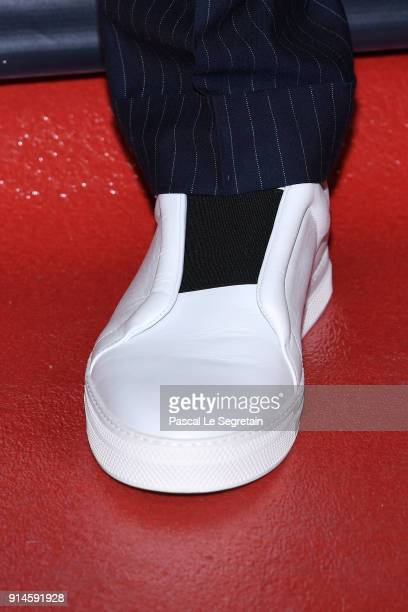 Arnaud Valoisshoe detail attends the 23rd Lumieres Award Ceremony at Institut du Monde Arabe on February 5 2018 in Paris France