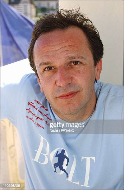 Arnaud Viard at Cabourg Romantic Film Festival in Paris France on June 13 2004