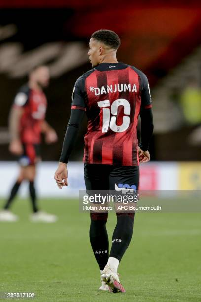 Arnaut Danjuma of Bournemouth during the Sky Bet Championship match between AFC Bournemouth and Bristol City at Vitality Stadium on October 28 2020...
