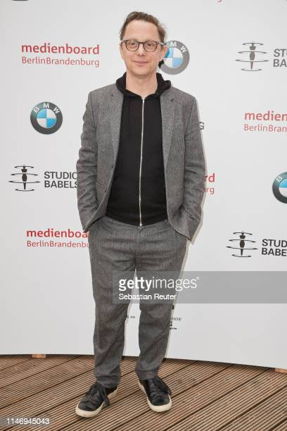 Arndt SchweringSohnrey attends the Studio Babelsberg Brunch on the occasion of the German Film Award at Zollpackhof Biergarten on May 04 2019 in...