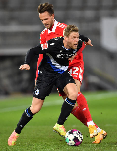 DEU: DSC Arminia Bielefeld v 1. FC Union Berlin - Bundesliga