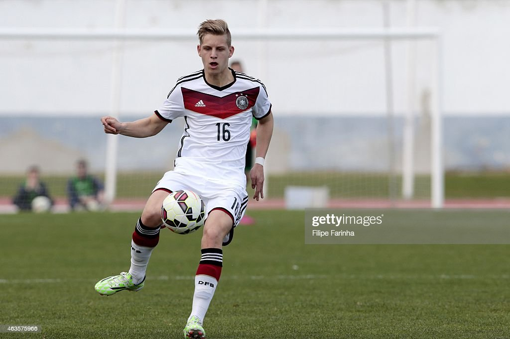 U16 Germany v U16 Spain - U16 UEFA Development Tournament : Nachrichtenfoto