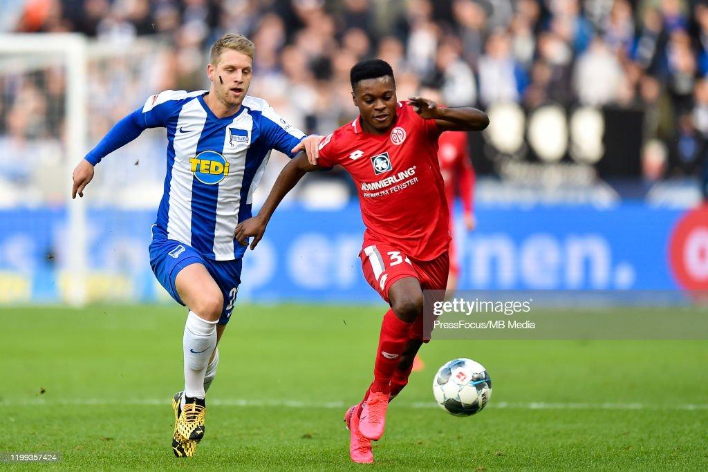 Hertha BSC v 1. FSV Mainz 05 - Bundesliga : Nachrichtenfoto